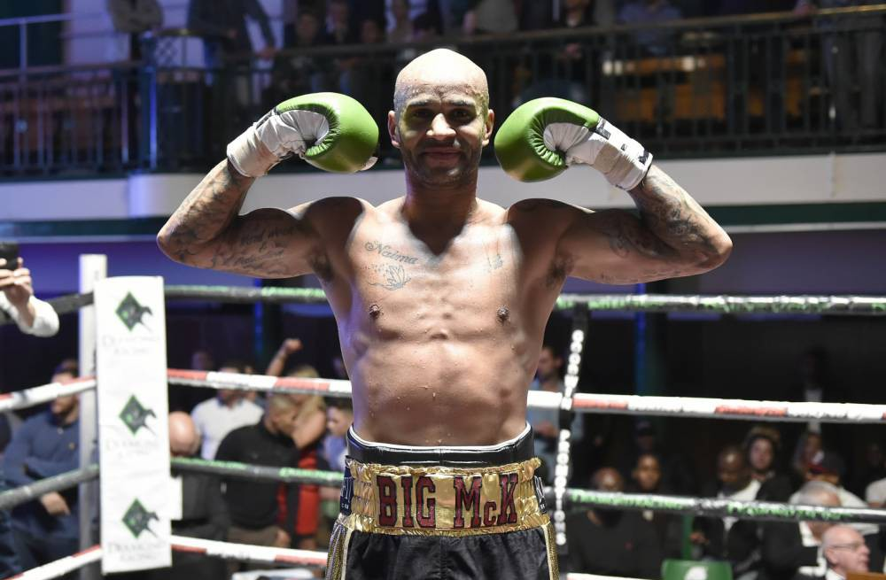 Boxer Leon McKenzie called 'suicide Leon' by John McCallum in taunts over depression beats rival inside and outside the ring