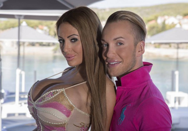 Quentin Dehar, 23, and Anastasia Reskoss, 20, who have transformed themselves into the real-life Ken & Barbie. The young couple, from France, have splurged an eye-watering UKGBP209,000 on two boob jobs, four nose jobs, lip injections, butt implants, cheek fillers, ear reshaping surgery, botox, eye bag removal surgery, fake tanning, teeth whitening, nail extensions and veneers. Ö PIC BY NEWS DOG MEDIA Ö Ö +44 (0)121 246 1932