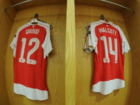 Stats show OIivier Giroud is outperforming Theo Walcott for Arsenal this season