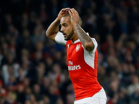 Pictures show Theo Walcott couldn't believe Manuel Neuer's save during Arsenal v Bayern Munich
