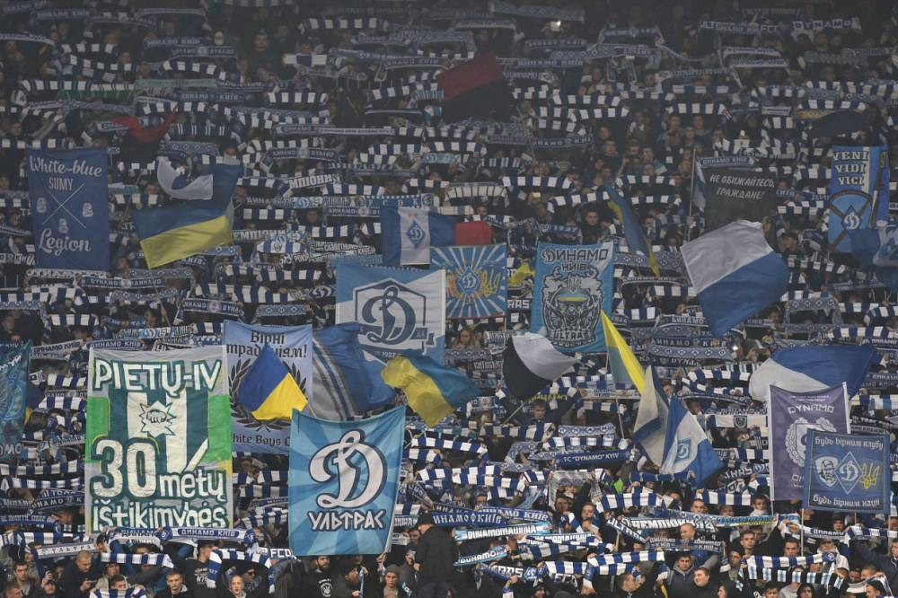Dynamo Kiev are considering segregating black fans to combat racism, says stadium director