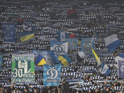 Dynamo Kiev are considering segregating black fans to combat racism, says stadium director