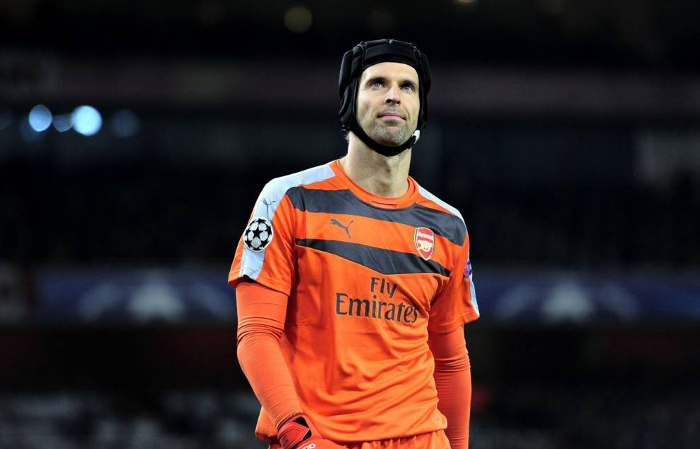 Arsenal goalkeeper Petr Cech is chasing Porto and ex-Real Madrid goalkeeper Iker Casillas to become greatest in Champions League history
