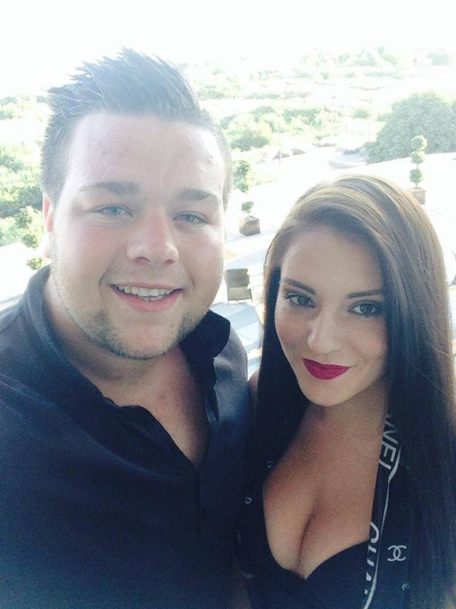 Michael Owen, 22, A heroic doorman clung on to a woman's hand for more than an hour after she threatened to jump off a bridge. Michael Owen, 22, held the woman's hand as he helped keep her from falling into a busy motorway. Brave Michael was travelling with girlfriend Jemma (pictured) when they noticed the distressed woman standing on the edge of a bridge near Chippenham, Wilts. © WALES NEWS SERVICE