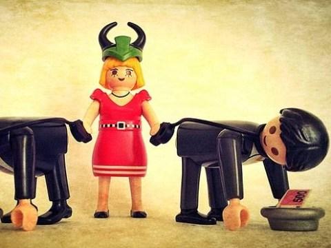 European politics… as explained by Playmobil toys