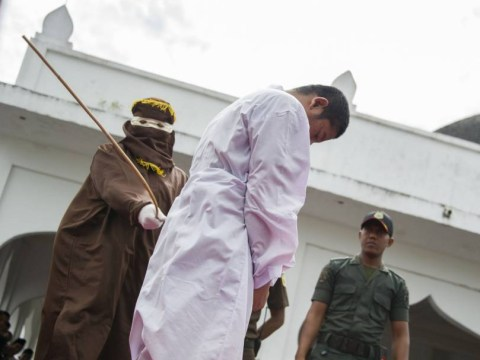 Indonesia passes law to cane gay people