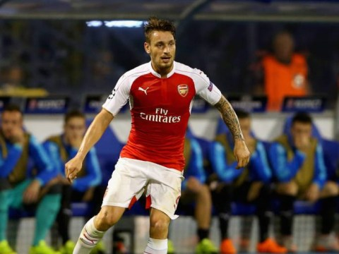 Reports suggest Roma and Lyon will battle it out for Arsenal defender Mathieu Debuchy in the January transfer window