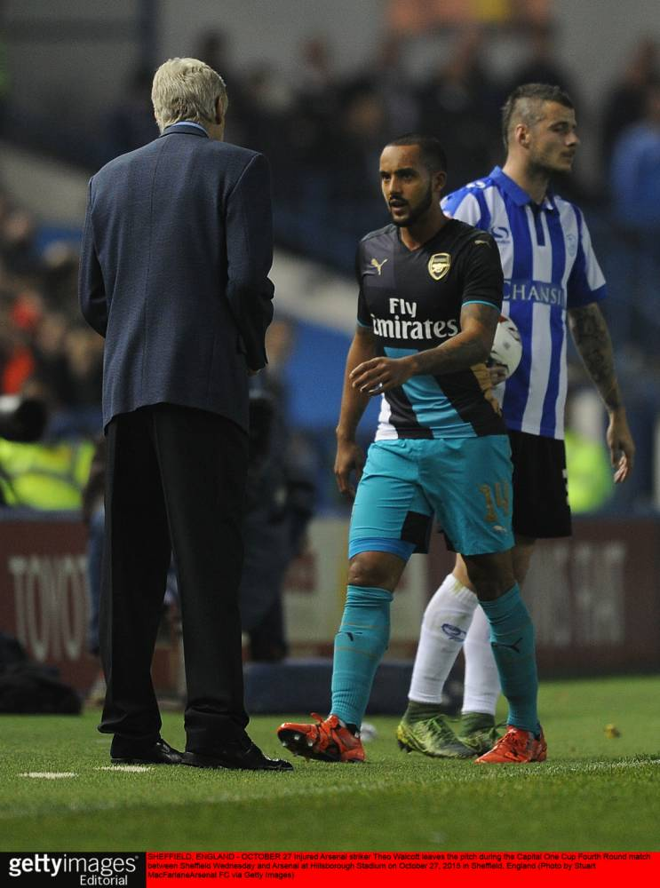 What could Theo Walcott's injury mean to Arsenal's Premier League title chances?