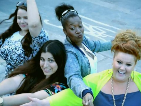 There's a plus size girl band and they have a baddass body positive song