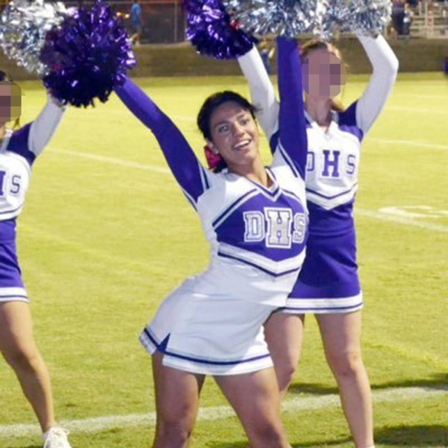 anry fuentes High School welcomes first openly transgender cheerleader Taken from https://www.facebook.com/Anryy.Fuentesz/photos