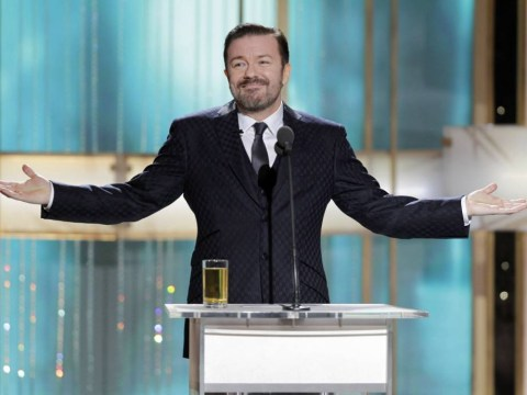 Famous people beware: Ricky Gervais is hosting the 2016 Golden Globes