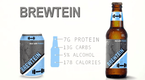 Someone's created a protein-packed beer, for gym bros who still like to party