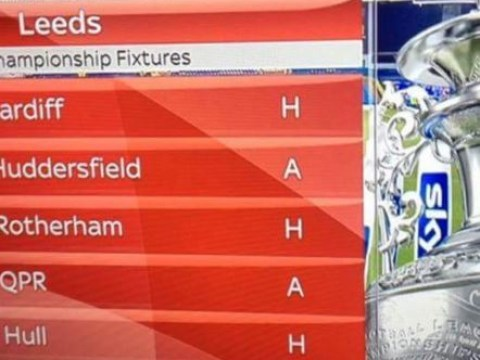 Leeds United are so bad that even their fixture list is laughing at them