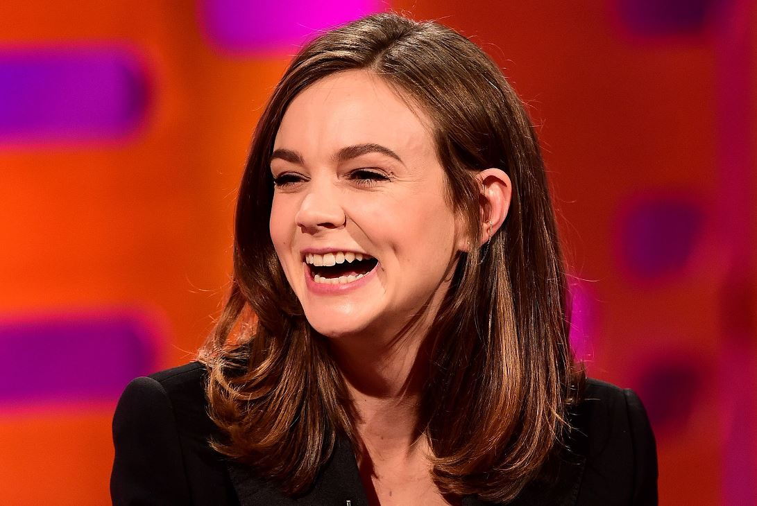 It's a girl! Carey Mulligan tells Graham Norton the sex of her baby