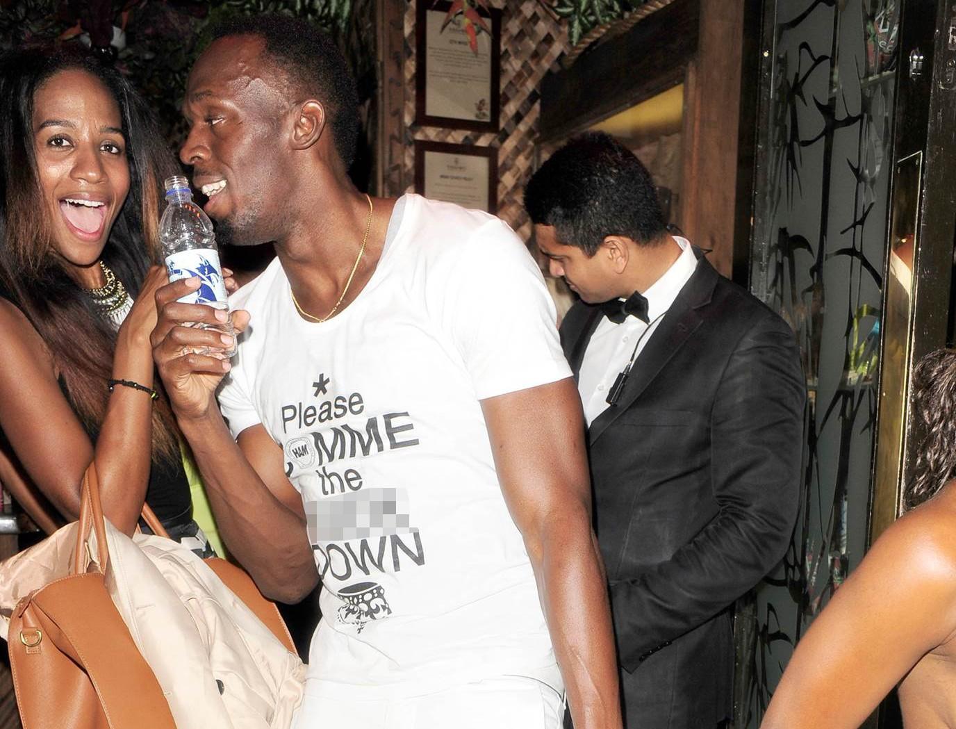 Apprentice's April Jackson in secret romance with Usain Bolt Credit: Vantage News
