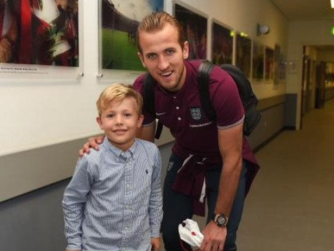 Harry Kane proves he's the nicest man in England by inviting six-year-old fan to Wembley
