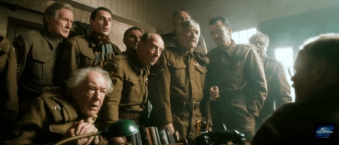 Dad's Army: The platoon bare their bums and fight off a bull in new trailer