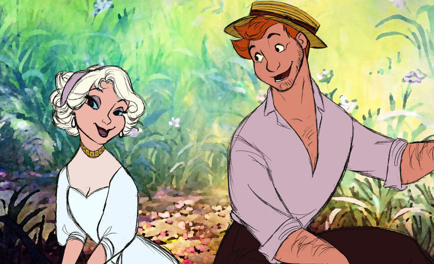 This artist shows what Disney animals would look like as humans