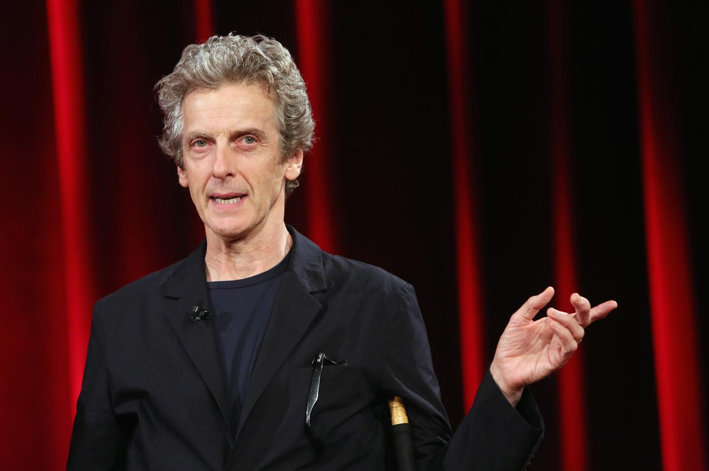 Doctor Who's Peter Capaldi tells Larry King that the BBC is 'seriously under threat'