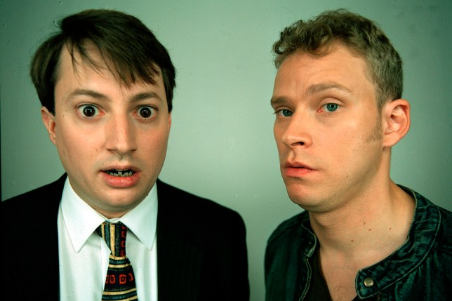 Television Programme: Peep Show, with Mark (David Mitchell) & Jeremy (Robert Webb). CHANNEL 4 PICTURE PUBLICITY 124 Horseferry Road London SW1P 2TX 020 7306 8685 Peep Show Jason Joyce This picture may be used solely for Channel 4 programme publicity purposes in connection with the current broadcast of the programme(s) featured in the national and local press and listings. Not to be reproduced or redistributed for any use or in any medium not set out above (including the internet or other electronic form) without the prior written consent of Channel 4 Picture Publicity 020 7306 8685