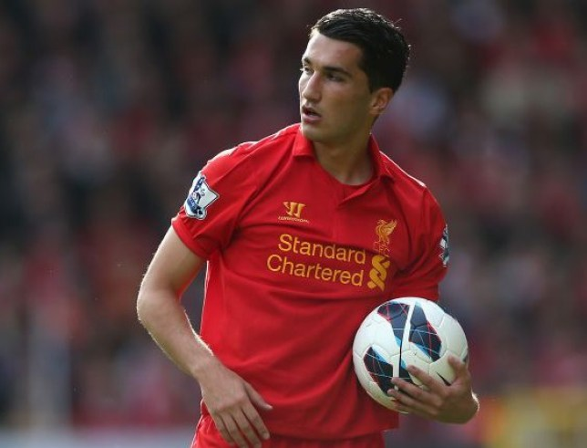 Nuri Sahin of Liverpool looks on during the Barclays Premier League match between Liverpool and Stoke City at Anfield on October 7, 2012 in Liverpool, England. LIVERPOOL, ENGLAND - OCTOBER 07: (Photo by Clive Brunskill/Getty Images)