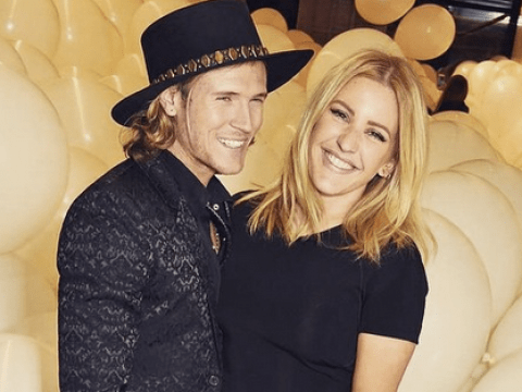 Ellie Goulding and Dougie Poynter have discussed marriage, but she won't be taking his name