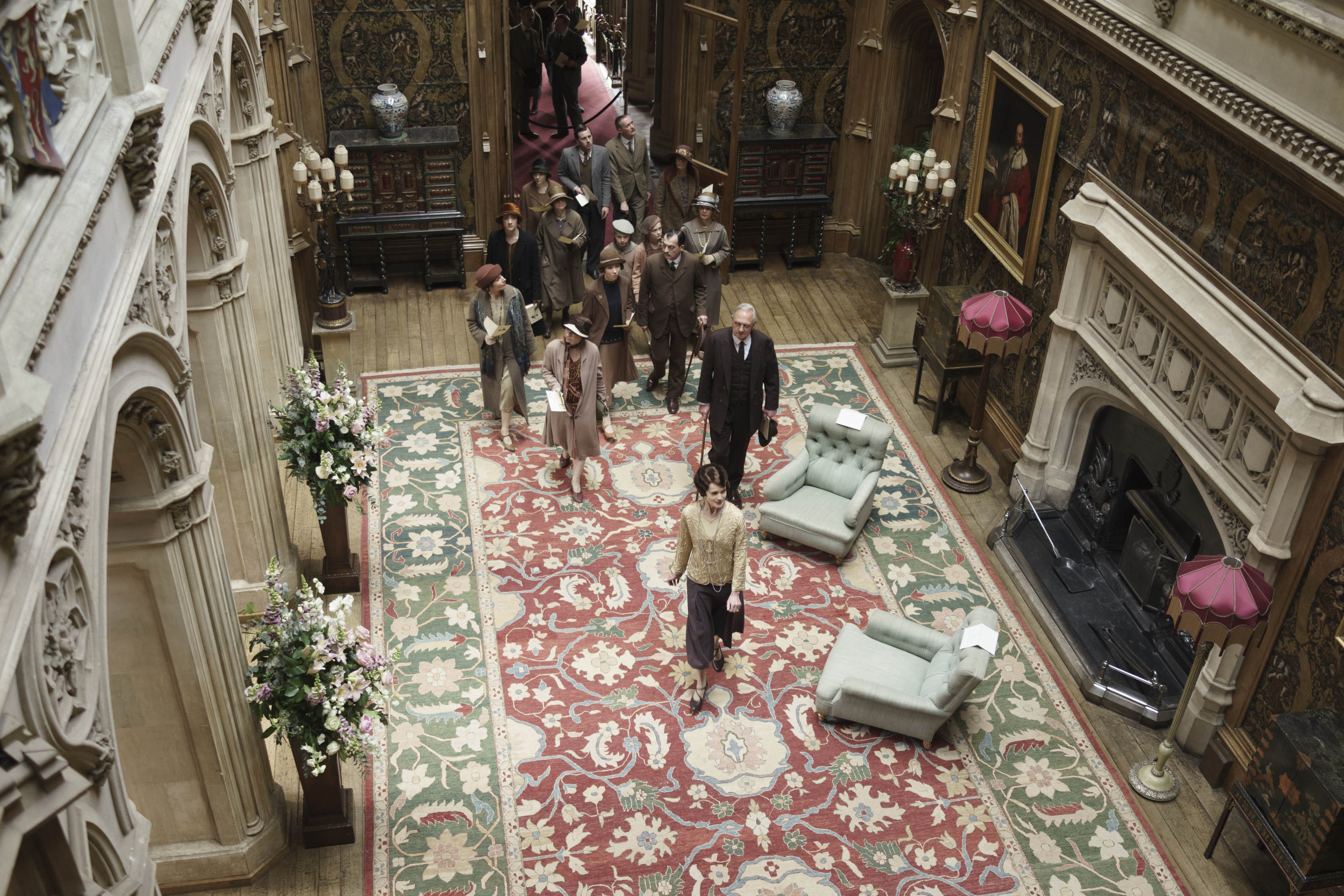Downton Abbey episode six: Lord Robert is home and the Abbey is open to all