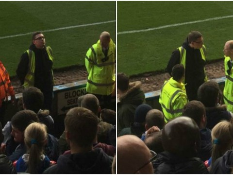 Football fan pretends to be steward at Rochdale v Oldham, lasts five minutes