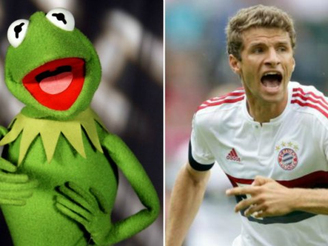 Thomas Muller actually sounds exactly like Kermit the Frog