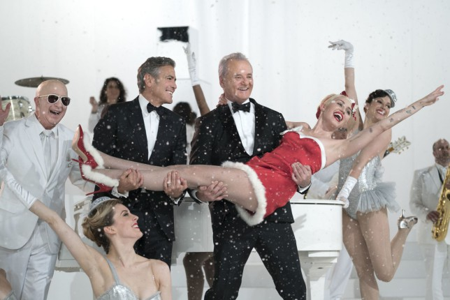 Bill Murray plays himself in Netflix Christmas special with some guy called George Clooney