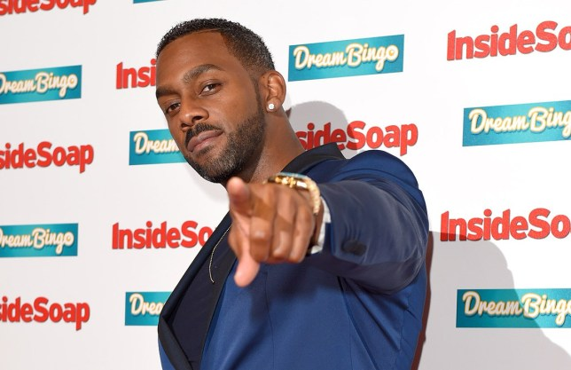 LONDON, ENGLAND - OCTOBER 05: Richard Blackwood attends the Inside Soap Awards at DSKTRT on October 5, 2015 in London, England. (Photo by Karwai Tang/WireImage)