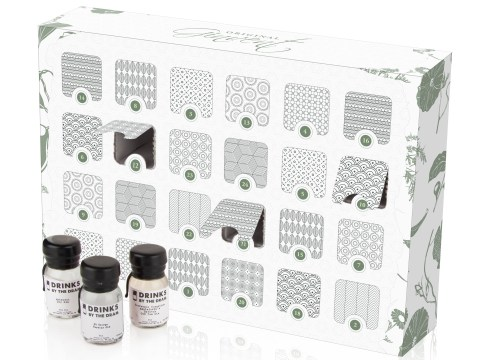 The gin advent calendar is back for Christmas 2015 and there's fancier gins than ever