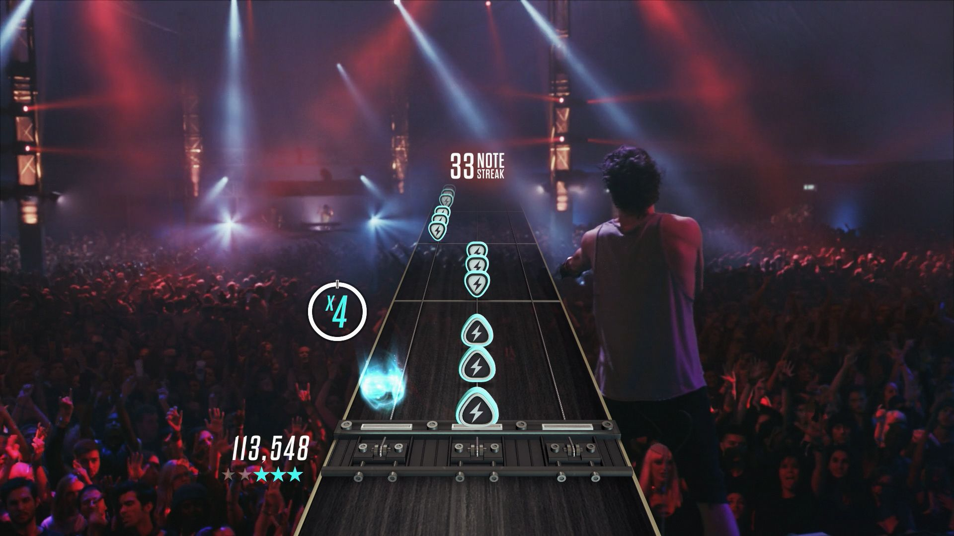 Guitar Hero Live (PS4) - the crowd goes wild
