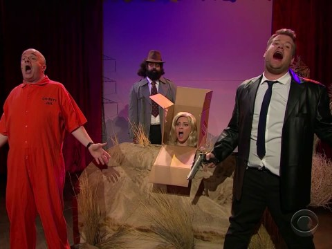 Watch James Corden transform three films into musicals you'll NEVER forget
