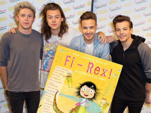 One Direction, Kylie Minogue and Sir Paul McCartney team up to write a children's book