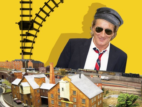 Rod Stewart books an entire hotel room for his model trains when he goes on tour