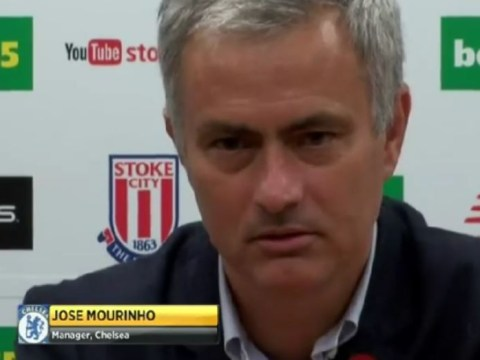Jose Mourinho says Chelsea players showed up 'stupid' critics – even though they lost to Stoke City