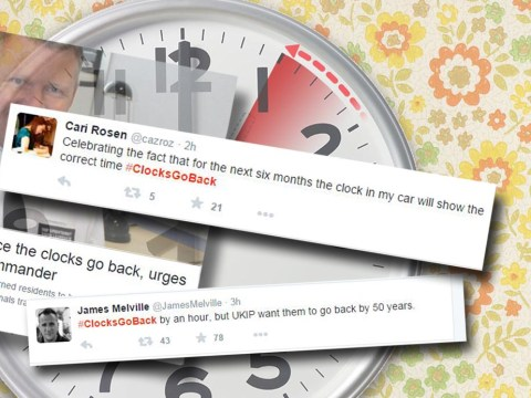 'Can we turn the clocks back to 1966 when this country was great?' The best reactions to #clocksgoback