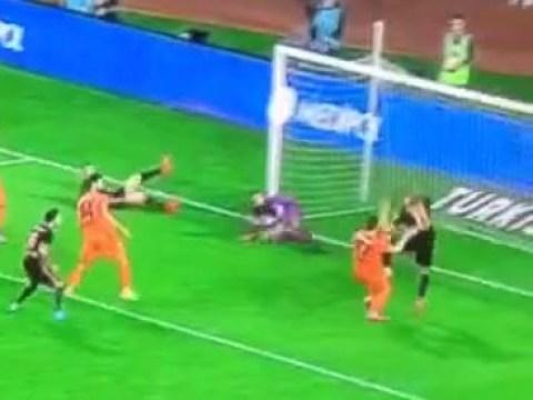 Arsenal misfit Lukas Podolski registers miss of the season contender for Galatasaray