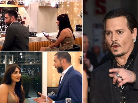 Johnny Depp is going to be on Channel 4's First Dates if this dater has her way