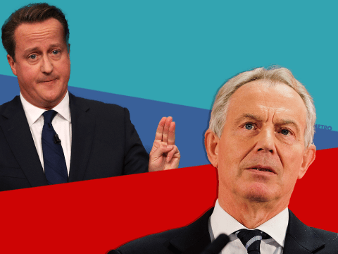 David Cameron has near enough copied Tony Blair's conference speech from 2005