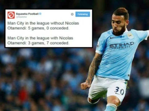 Stat shows Manchester United may have dodged a bullet in not signing Nicolas Otamendi