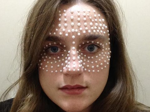 This is what happened when I wore pearls on my face for a day
