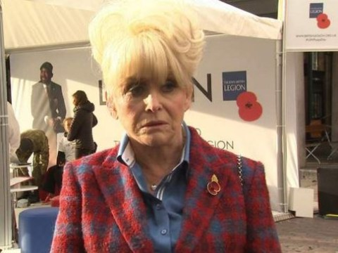 Barbara Windsor has a message for people who don't wear a poppy