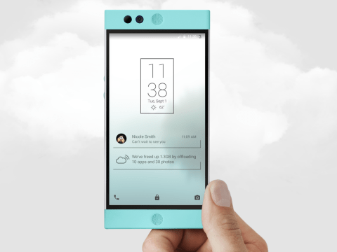 This cloud-storage smartphone means that you'll never have to delete a selfie again