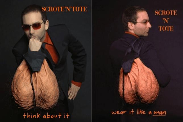 scote n tote ballsack bag