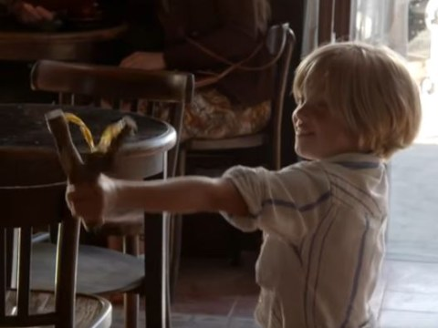 WATCH Brad Pitt's daughter Shiloh prank him with a slingshot behind-the-scenes of By The Sea