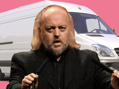 Bill Bailey's tour bus has been stolen by 'scrofulous nerks' and he wants your help