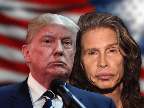 Steve Tyler wants Donald Trump to stop using Aerosmith songs in his campaign