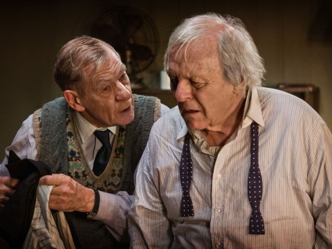 Here's why you should watch Ian McKellen and Anthony Hopkins in The Dresser